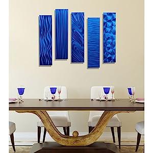 statements2000 jon allen metal art metal wall art home decor living room artwork handmade modern