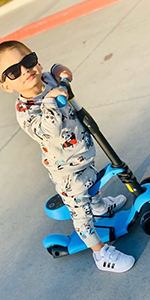 2 in 1 Scooter for Kids
