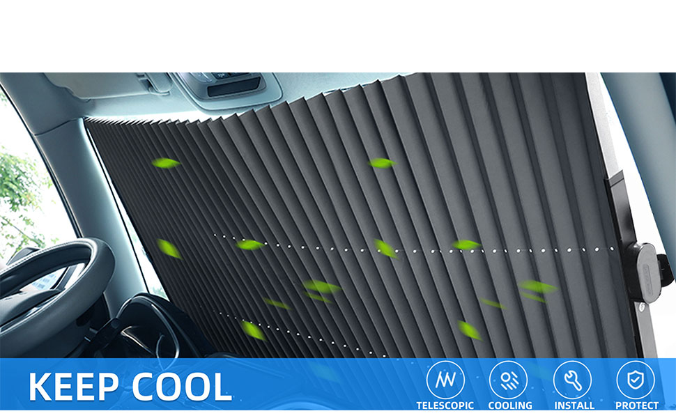 Keep your car interior cool