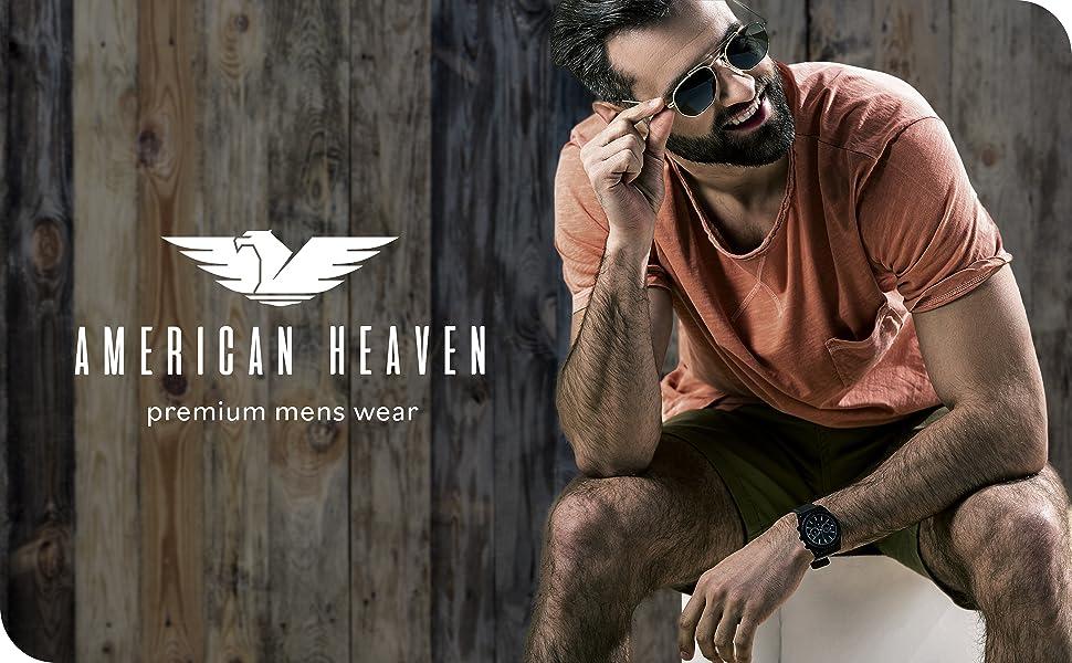 American heaven mens clothing