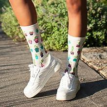 MeMoi Fun Novelty Cactus Nature Socks