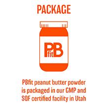 pbfit peanut butter powder low fat low calorie organic