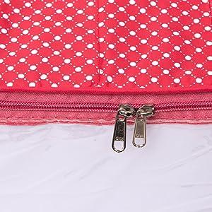 packets packing pouches sareebag sarees sadi sari single small storage storing transparent wardrobe