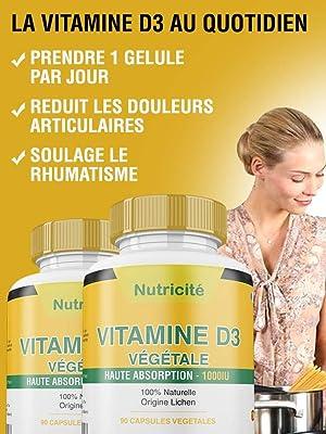 la vitamine d3 efficace