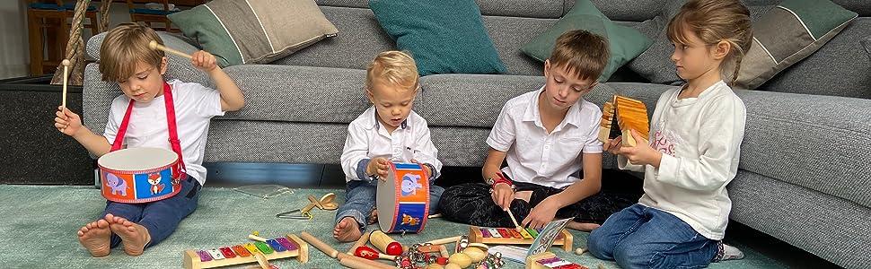 drum drumming mother mum education music instruments extasticks kids kid children toys babies boys