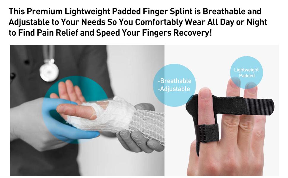 index finger splints