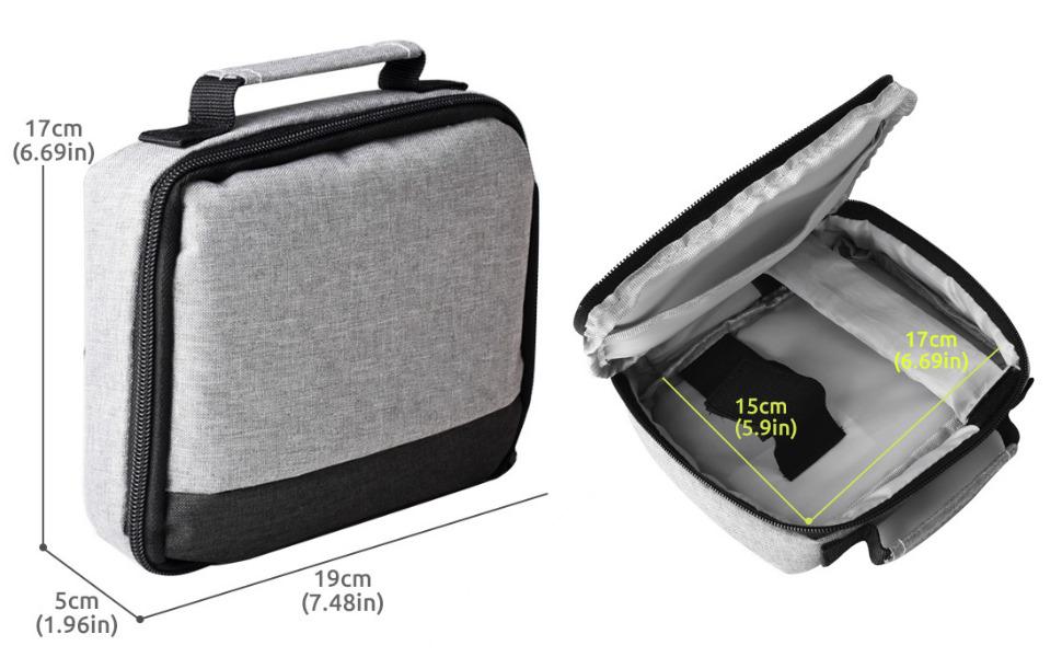 maleta bolsa de transporte para mini video proyector led dlp lcd wimius yaber epson optoma lg