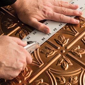 Fasade Backsplash Kits Measure and Cut