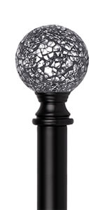 Sparkling Mosaic Ball Finials
