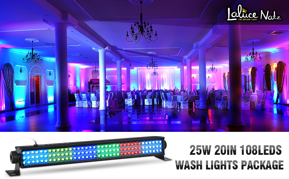 stage wash lights