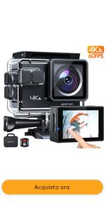 gopro  Fotocamere subacque Videocamere subacquee