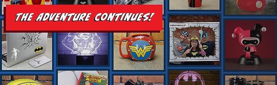 DC Comics product grid