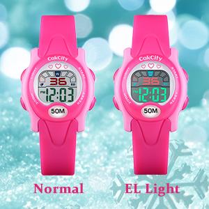 luminous watch