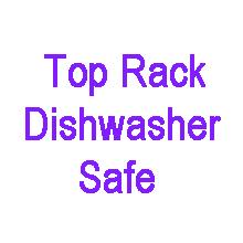 top rack dishwasher safe