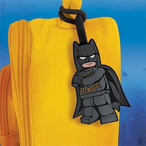 DC Superheroes Batman Silicone Bag Tag Luggage