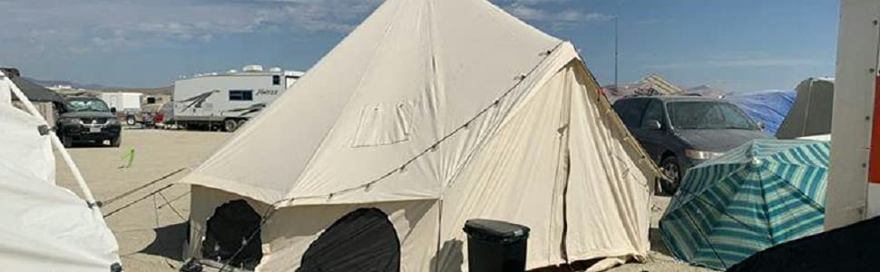 luxury cotton canvas bell tent for camping glamping luxury