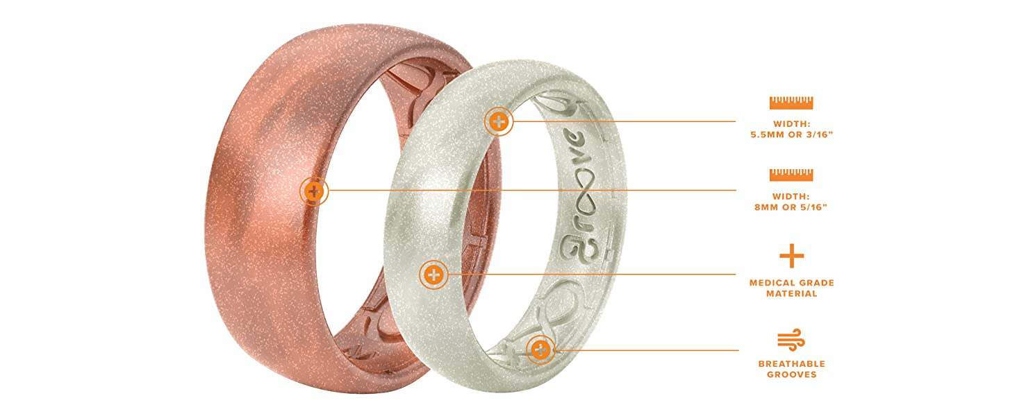 Metallic Ring Product Features