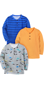 kids boys henley shirts