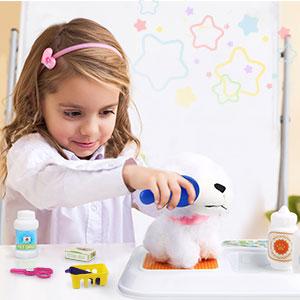 kit veterinario per bambini