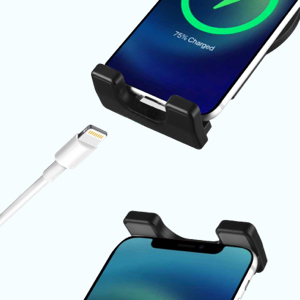 Rechargeable, with protective pad