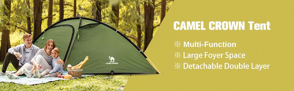 CAMEL CROWN tent