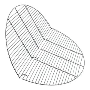 partially folded grate