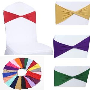 spandex chair sash bow