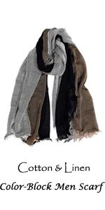 Grey Brown Scarves