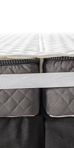 bed bridge mattress topper with strap