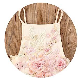 baby girl floral romper