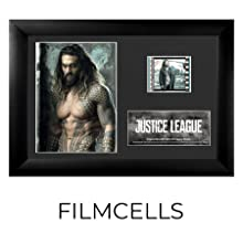 Filmcells Presentations Framed Movie Art Justice League 35mm Film Aquaman Jason Momoa