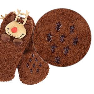 [Ship 4 days] Vbiger Adult Toddler Coral Fleece Slipper Socks Warm Fuzzy Shirt, Hoodie
