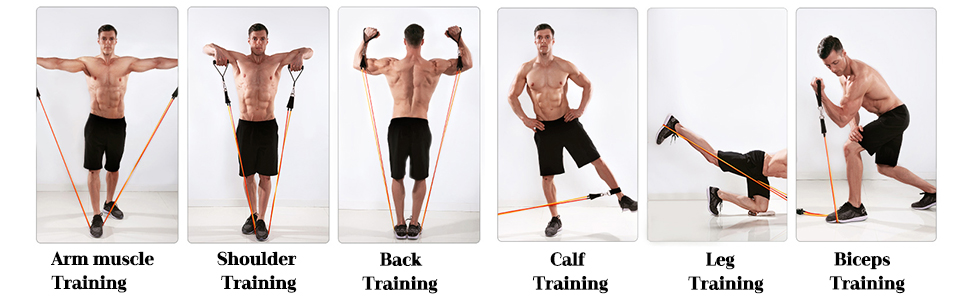 resistance bands for men exercise resistance bands strength bands fitness band work out bands