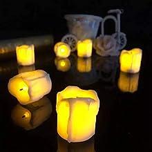 led candle diya