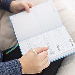 full focus planner gratitude journals mindful journal mindfulness diary wellbeing journal health