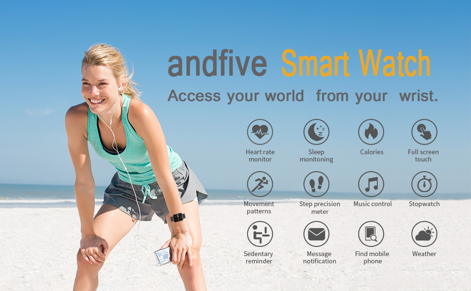 andfive Smart Watch