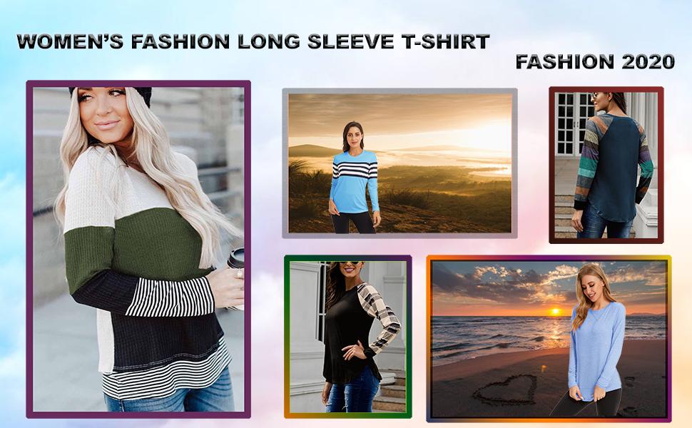 women's shirt long sleeve fashion fall clothes