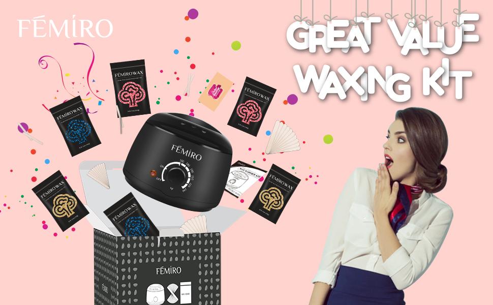 Home waxing kit for women Men
