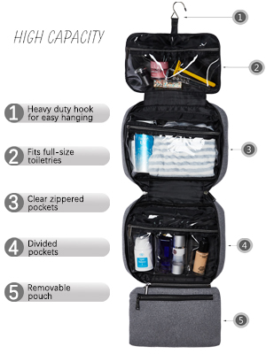 makeup bag waterproof