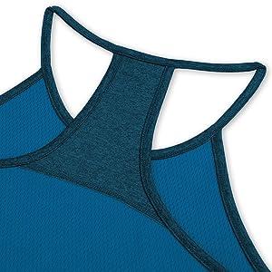 TCA Laser Tech Womens Running Vest Black Breathable Lightweight Sports Tank Top
