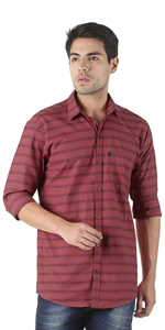 Stripes Shirts | Cotton Casual Shirts
