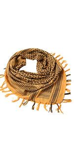 Tactica Scarf- Gold
