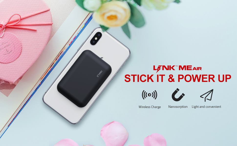portable wireless charger wireless power bank wireless battery pack