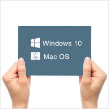 slim USB 3.0 external CD DVD Drive burner work with Windows 10 and mac os