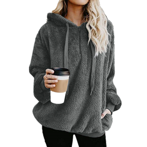sweaters for women womens sherpa pullover fuzzy sweatshirt for women sherpa hoodie women