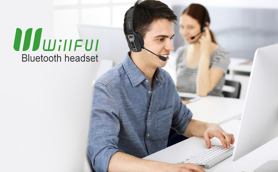 Bluetooth Headset Willful Bt 5 0 Wireless Headset With Microphone Mute Button 30hrs Clear Talk Time Pro For Car Truck Driver Business Home Office Cell Phones Pc Flexible Noise Cancelling Mic Formtech Inc Com