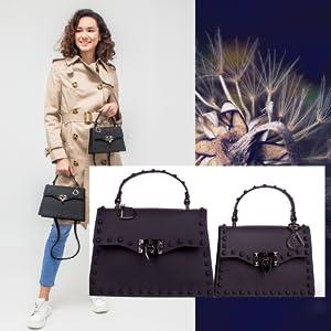 studded purse green studded purse designer inspire handbags designer dupes handbags pink rocker