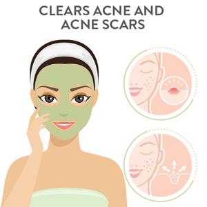 clear acne scars. anti-acne