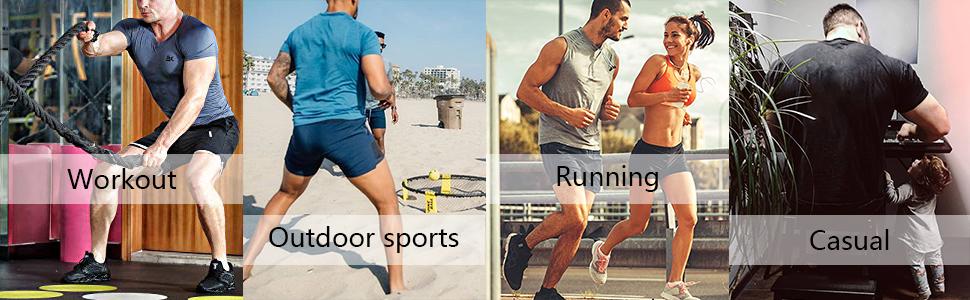 men's gym workout shorts