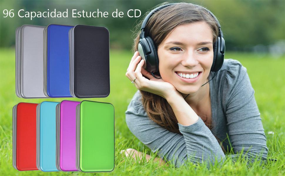 estuche de cd